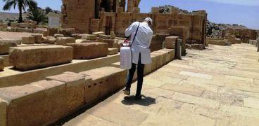 محافظ أسوان: حملات مستمرة لتعقيم المعابد والمناطق الأثرية والمطارات
