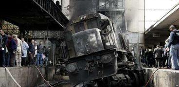 حادث حريق محطة مصر