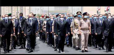 جنازة وزير الدولة للإنتاج الحربي