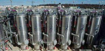 """مصنع معالجة المياه المبتذلة """"دي سي ووتر"""""""