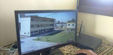 تركيب 16 كاميرا مراقبة بمدرسة  الزراعة بالخارجة في الوادي الجديد