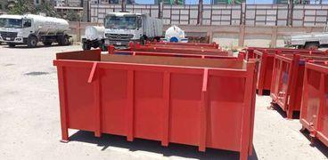 تصنيع ماكينة الـ« إنترلوك» لرصف الطرق و10 حاويات لجمع القمامة بكفر الشيخ