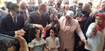 افتتاح مدارس جديدة في كفر الشيخ
