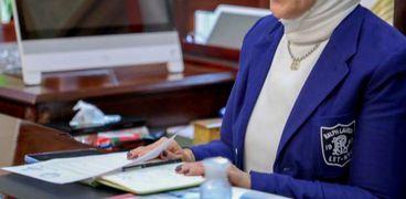 الدكتورة هالة زايد وزيرة الصحة والسكان.. صورة أرشيفية