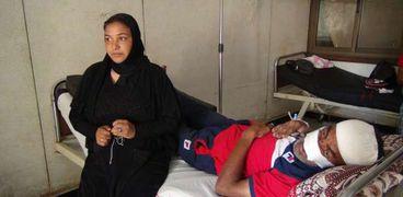 مصاب المحلة في مستشفى المنصورة الدولي