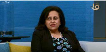 الدكتورة سامية عبده نائب مدير مستشفيات جامعة عين شمس ورئيس وحدة مكافحة العدوى