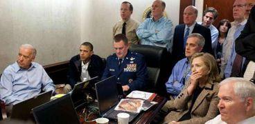 أوباما وبايدن ليلة قتل بن لادن