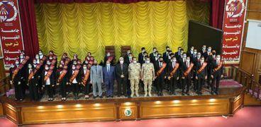 اختيار 50 طالباً لتمثيل جامعة الفيوم في الافتتاحات الرئاسية المقبلة