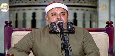 لقطة من شعائر صلاة الجمعة بالتلفزيون المصري