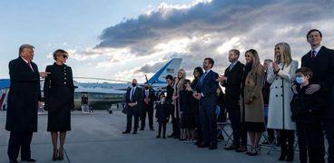 عائلة الرئيس السابق دونالد ترامب