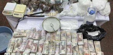 مصرع 4 تجار مخدرات وإصابة 3 وضبط 5 في مطاردة أمنية بالفيوم