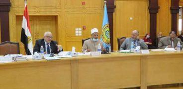 أبوزيد الأمير يترأس اجتماع مجلس جامعة الأزهر