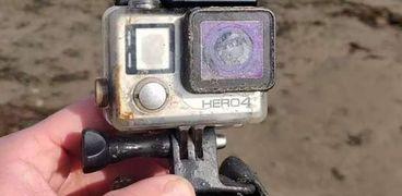 الكاميرا التي تم العثور عليها
