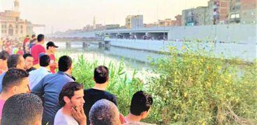 غرق طالبين اثناء الاستحمام في نهر النيل بسوهاج