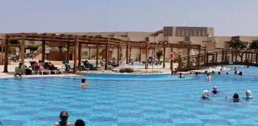 """فنادق الغردقة  تستقبل السياح المصريين  """"أرشيفية"""""""