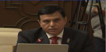 اللواء طارق نصير عضو البرلمان العربي