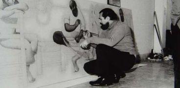 لؤي كيالي.. رسام سورى جسد المعاناة الإنسانية وتوفي بمأساة
