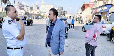 رئيس مدينة الحامول يقود حملة لرفع الإشغالات