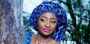 الممثلة النيجيرية