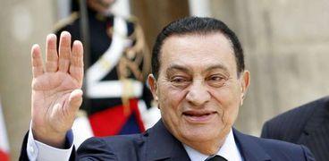 الرئيس السابق الراحل محمد حسني مبارك