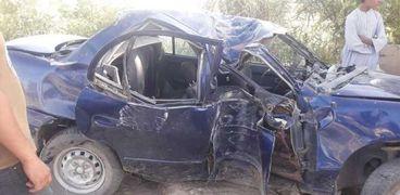مصرع طفل واصابة 3 اشخاص في حادثي سير بسوهاج