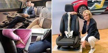 ابتكار مقاعد سيارات حديثة تحافظ على صحة الظهر