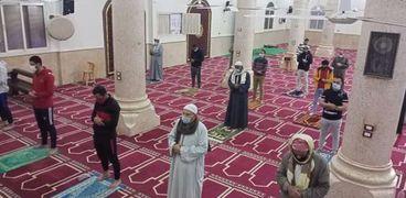 الصلاة في المسجد طبقا للإجراءات الاحترازية