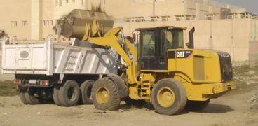 حملة نظافة موسعة فى مركز ومدينة ارمنت