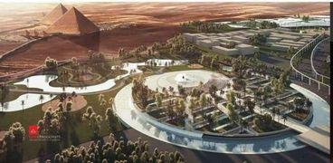 مخطط تطوير منطقة الأهرامات