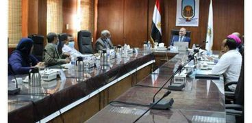 مجلس جامعة الأقصر برئاسة الدكتور محمد محجوب