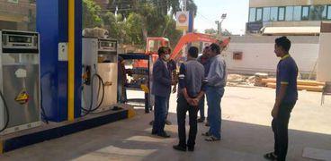 حملات رقابية على محطات الوقود - صورة أرشيفية