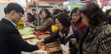 معرض أغذية بكوريا الشمالية