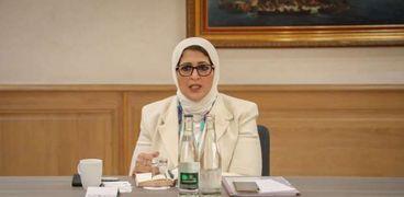 الدكتورة هالة زايد.. وزيرة الصحة