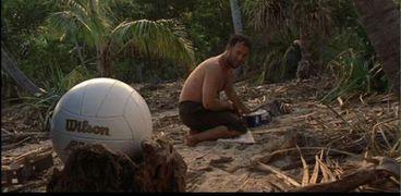 مشهد من فيلم Cast Away