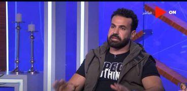 الممثل عصام فارس