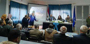 """""""بحوث التناسليات الحيوانية"""" ينظم قافلة بيطرية بقرى محافظة دمياط"""