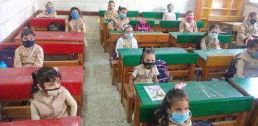 أطفال كفر الشيخ في أول أيام دراسي