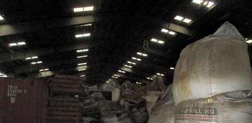 تخزين نترات الأمونيوم في مرفأ بيروت