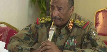 رئيس مجلس السيادة في السودان الفريق أول ركن عبدالفتاح البرهان