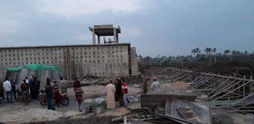 محطة الصرف الصحي باليوسيفية