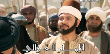 مشهد من مسلسل الإمام الغزالي