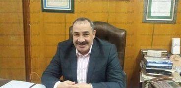 العميد محمد عمار مدير إدارة البحث الجنائى بكفر الشيخ