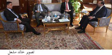 الأمين العام للنواب يستقبل نظيره العراقي