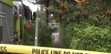 اغلاق الشرطة الأمريكية مكان حادث انفجار عربة الطعام في ميامي