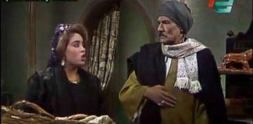 مشهد من مسلسل «ذئاب الجبل»