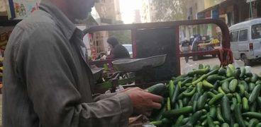 بائع الخضروات