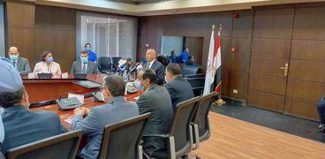 الفريق المهندس كامل الوزير وزير النقل