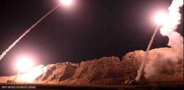 صورة أرشيفية لضربات إسرائيلية في سوريا