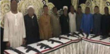 المتهمون في مذبحة أبو حزام