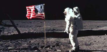 سطح القمر- صورة أرشيفية